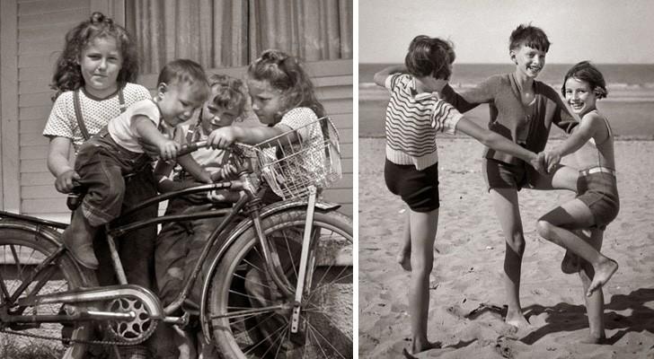 L'infanzia prima dell'arrivo della tecnologia: 25 foto che vi faranno sognare