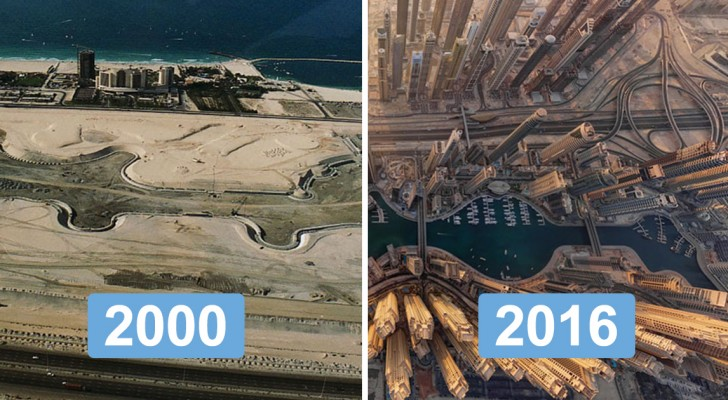 Le prix du progrès : les changements impressionnants des villes les plus célèbres du monde