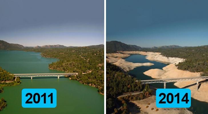 Queste 9 fotografie prima e dopo sono la prova schiacciante del riscaldamento globale