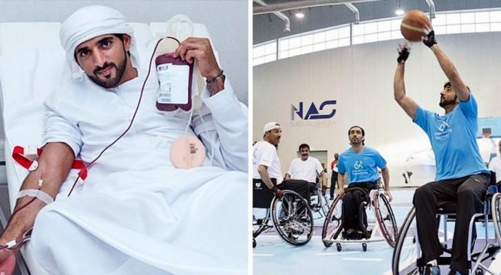 Il principe dei sogni esiste e vive a Dubai: ecco a voi lo sceicco dal cuore tenero