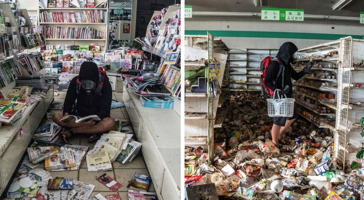 Un uomo si intrufola nella zona proibita di Fukushima: ecco gli scatti rubati di una città fantasma