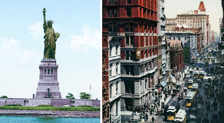 Images colorisées du début du 20e siècle: voici New York à l'aube de la modernité d'aujourd'hui
