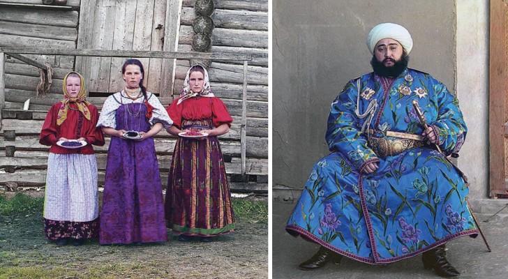 De fotograaf van de tsaar gaat op reis in het Rusland van voor de revolutie: kleurenfoto's uit een vervlogen tijdperk