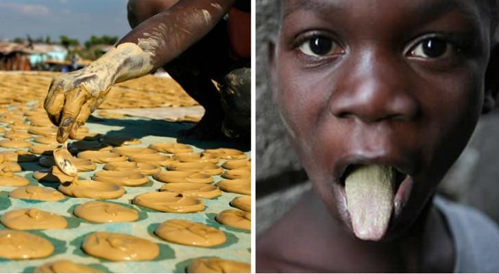 Biscotti di fango per sfuggire alla fame: la soluzione disperata delle popolazioni caraibiche