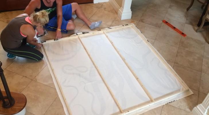 ein mann zeigt euch wie man eine gartenschaukel aus zwei holzpaletten baut. Black Bedroom Furniture Sets. Home Design Ideas