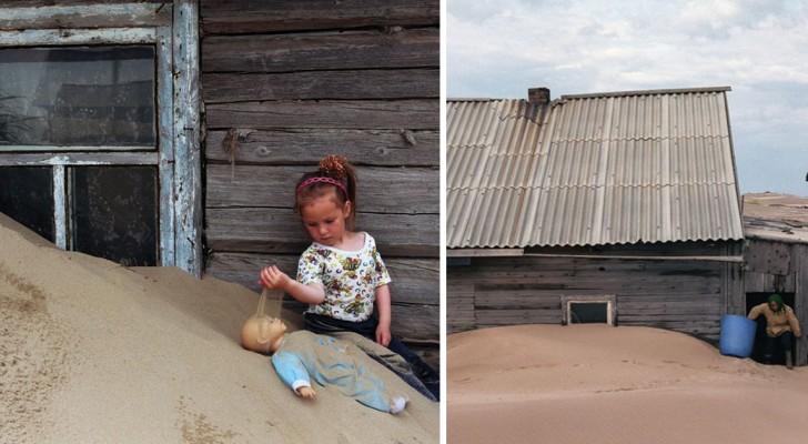 Voici le village russe où les gens doivent creuser pour sortir de la maison