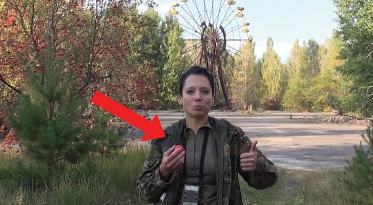Se dirije a Chernobyl y come manzanas contaminadas por un motivo bien preciso. Que cosa piensas?