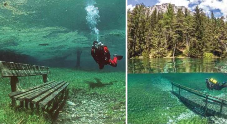 En hiver, on marche, en été on nage: voici le lac qui se remplit que pendant 4 mois par an