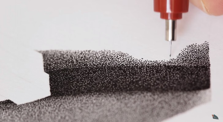 He speed draws with dots for 90 hours --- You won't believe your eyes!
