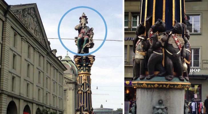 Depuis des siècles, cette fontaine terrorise les enfants de Berne, mais son sens reste un mystère