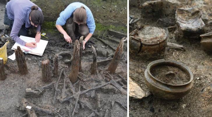 Découverte en Angleterre, la Pompéi des marais, un village de l'âge du bronze qui a résisté au temps