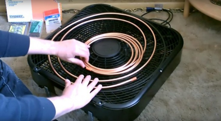 Discover how to make your own air conditioner!