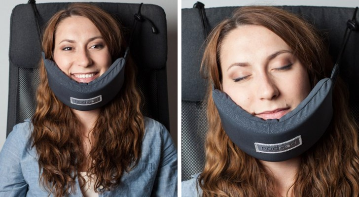 The perfect shoulder to lean on?! Your NodPod Travel Pillow!