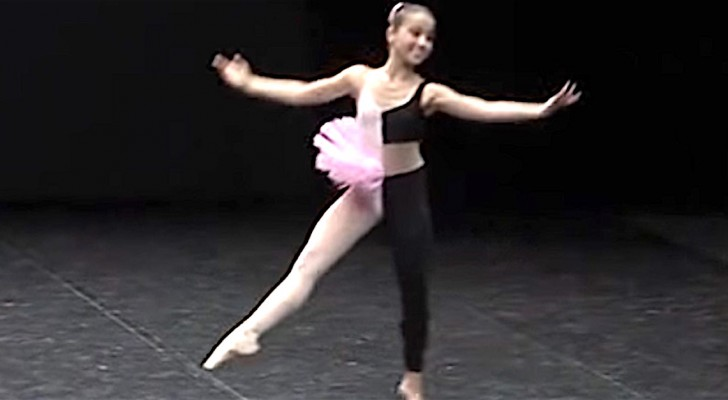 With a dual costume and music --- this 14-year-old's performance is unforgettable!