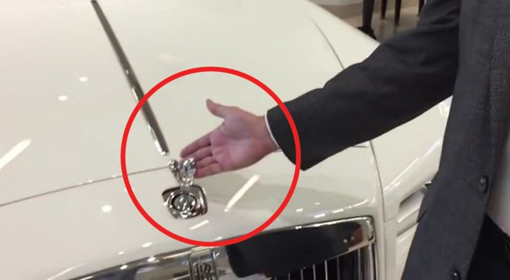 Can a Rolls Royce hood ornament be stolen? -- See what happens!