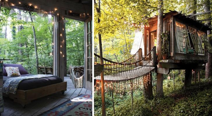 La favola diventa realt questa magnifica casa sull - Airbnb casa sull albero ...