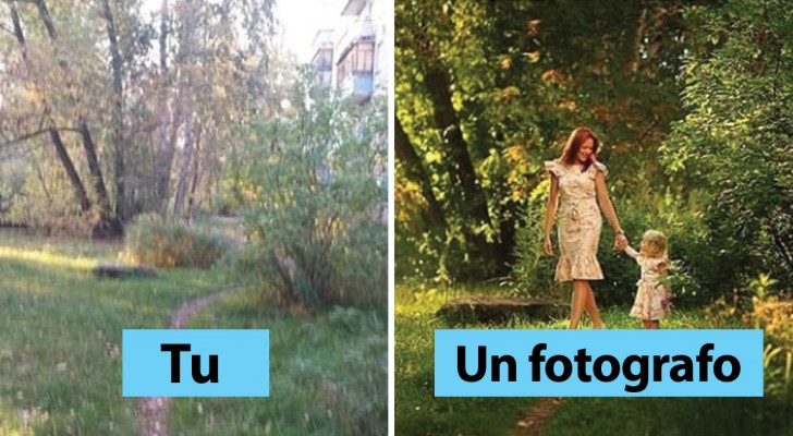 Persone normali VS fotografi professionisti: ecco i dettagli che FANNO la differenza