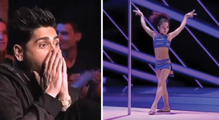 8 ans et une performance hors du commun: les acrobaties de cette enfant laissent tout le monde sans voix!
