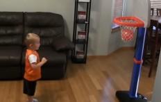 Il bimbo prodigio della pallacanestro