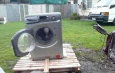 Come distruggere una lavatrice