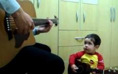 Padre e figlio jam session