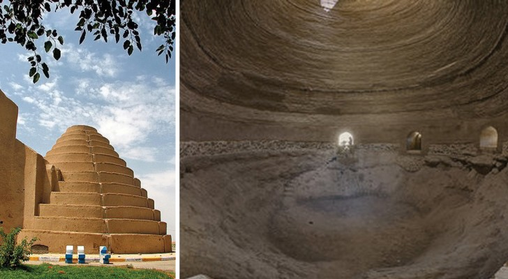 So haben die Perser mitten in der Wüste vor 2400 Jahren Eis hergestellt