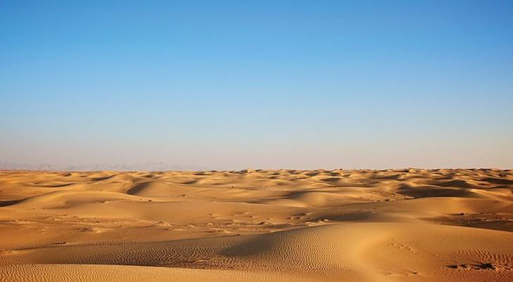 Je merkt dat je in een uitgestrekte woestijn bevindt... dan zie je een kubus... - Leer jezelf kennen met deze korte test