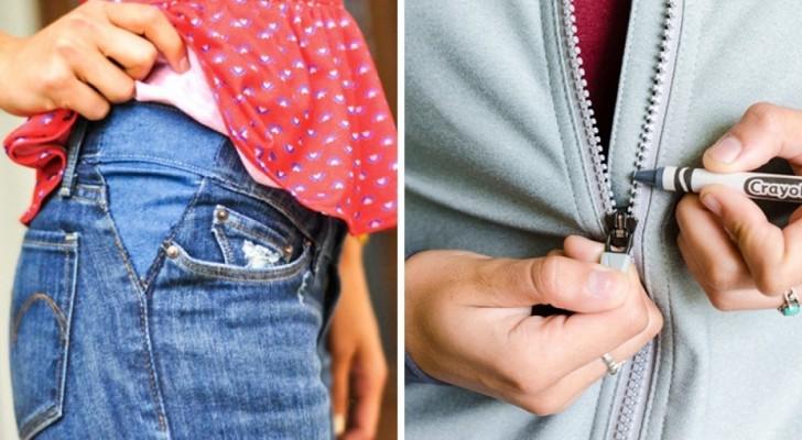 18 Tricks wenns um Bekleidung geht, mit denen ihr Zeit und Geld spart