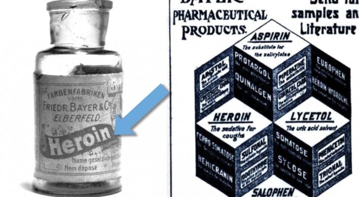 We weten dat heroïne bestaat, maar waarvoor het werd gebruikt in de 20ste eeuw zal je verbazen.