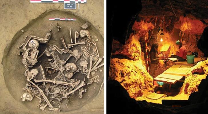 Hier einige Reste von Verstorbenen die wirklich grausige Details verbergen