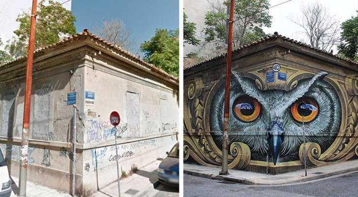 So kann Street-Art das Gesicht einer Stadt verändern
