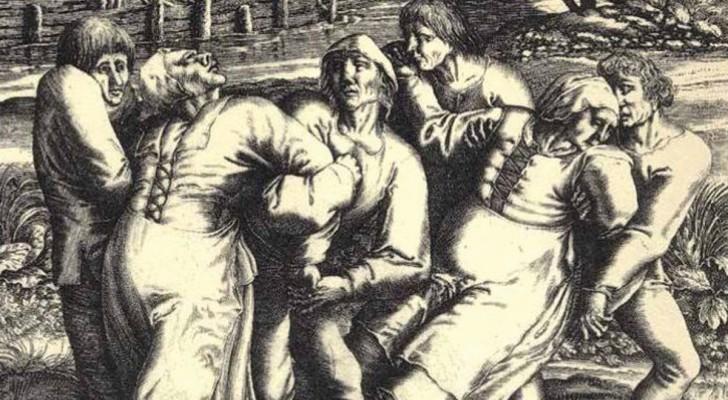 Hystérie collective: l'étrange cas du village qui dansa... jusqu' à la mort.