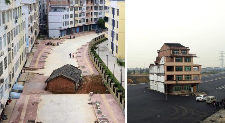Les petits propriétaires contre les grands constructeurs: 13 maisons qui résistent à la démolition
