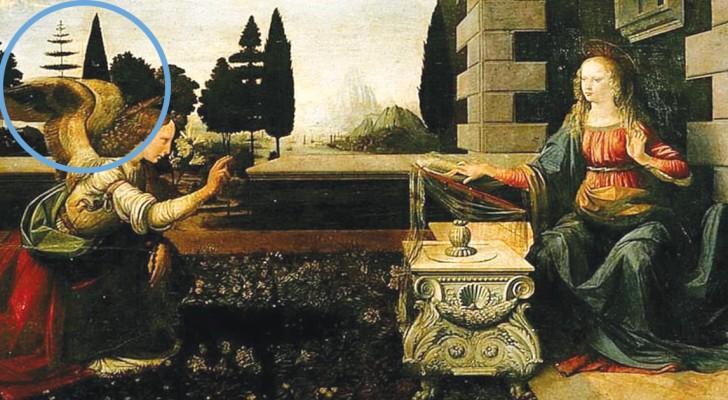 """De Boom In Het Schilderij """"De Annunciatie"""" Van Da Vinci Is Nog Een Onopgelost Mysterie"""