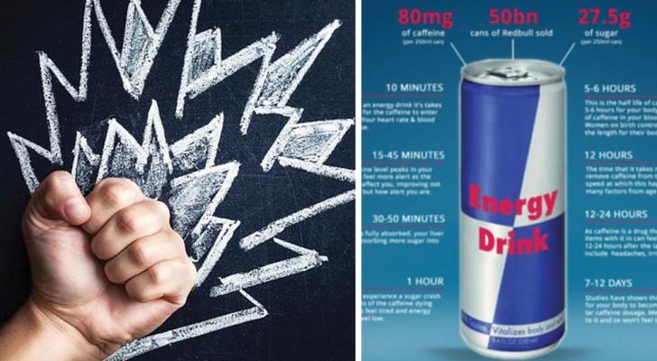 Lees Hier Wat Er Gebeurt Wanneer Je Een Energiedrankje Drinkt Dat Je 'Vleugels' Geeft