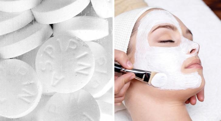 Maschere per il viso all'aspirina: ecco 3 usi alternativi del comune farmaco