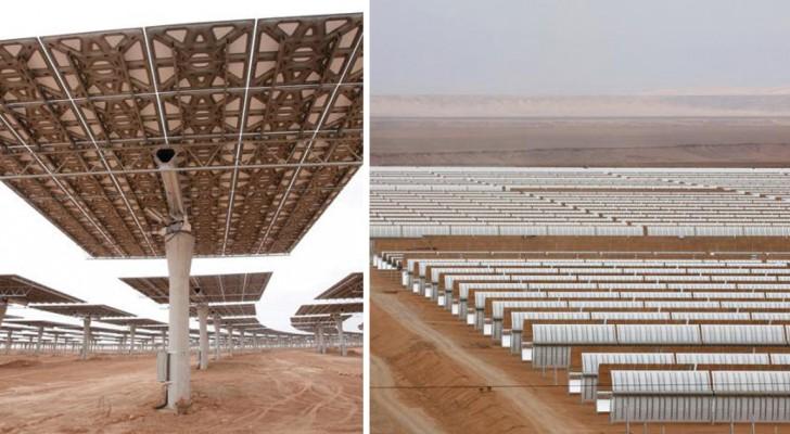 3.000 ettari di pannelli: ecco a voi la centrale solare termica più grande del mondo
