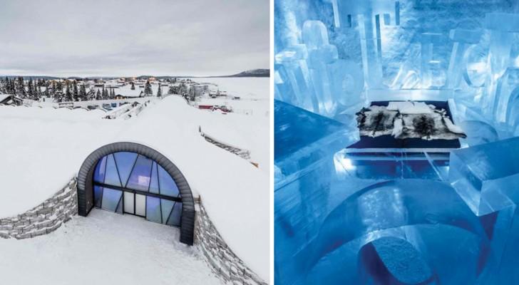 In Zweden Is Het Eerste Ijshotel Met Paradijselijk Interieur Geopend Dat Nooit Smelt