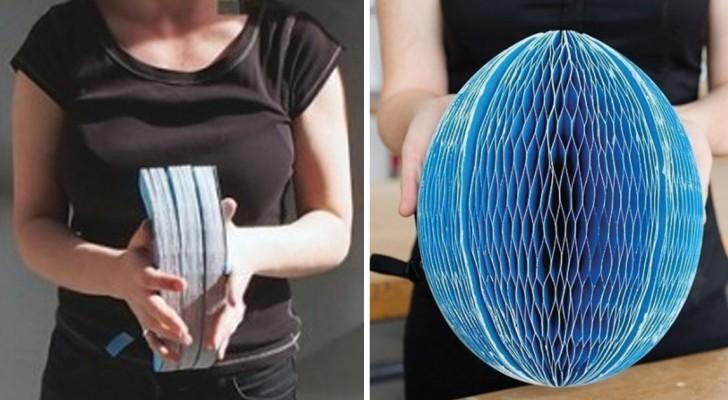 Si può piegare ed infilare in borsa: ecco a voi il casco di carta riciclata