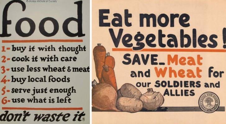 No allo spreco: questi poster della I guerra mondiale hanno ancora qualcosa da insegnarci