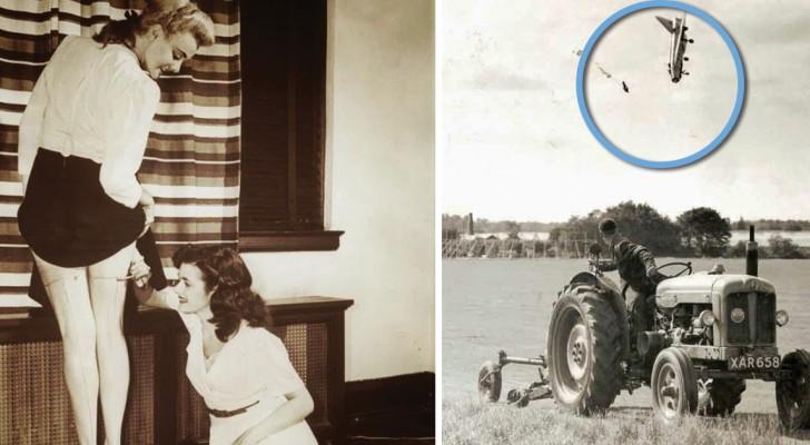 20 strampalati scatti del passato che ci mostrano quanto siano cambiati i tempi
