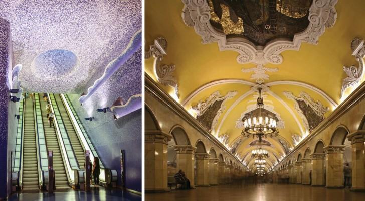Metropolitane come opere d'arte: ecco alcune delle stazioni più belle al mondo