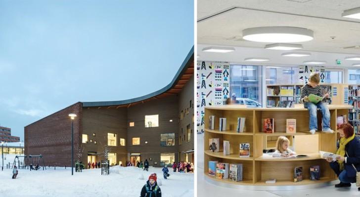 Architettura al servizio dell'istruzione: ecco la scuola finlandese che tutti vorremmo frequentare