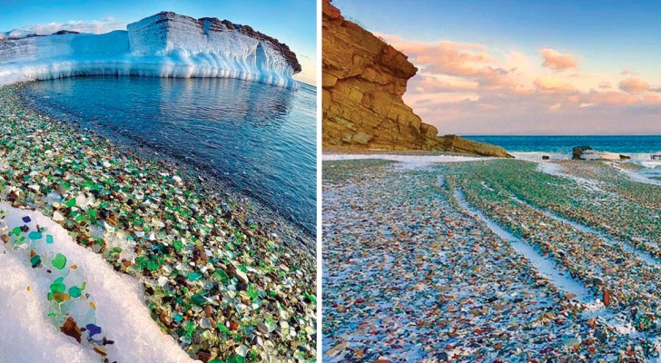 Da discarica di bottiglie a paradiso terrestre: godetevi questa magia firmata da Madre Natura