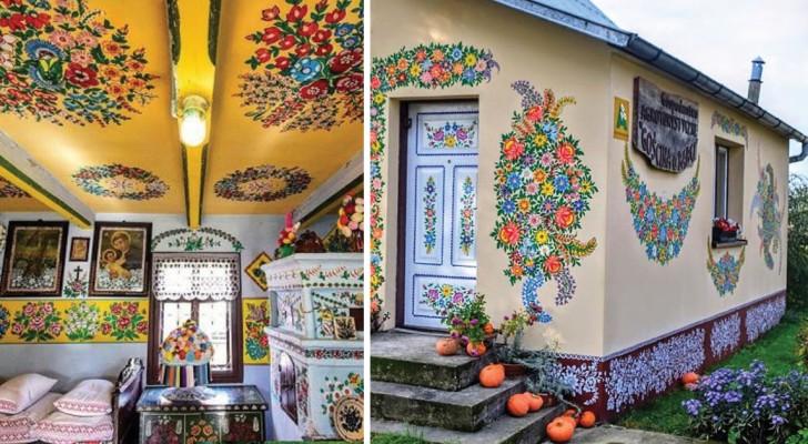 Een pools dorp vol met bloemmotieven: kom erachter hoe deze traditie is ontstaan.