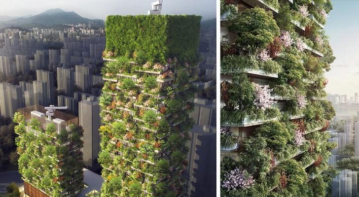 Le prime foreste verticali asiatiche sono opera di un architetto italiano: ecco il progetto