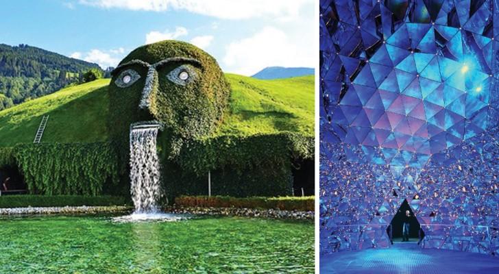 Een mysterieuze berg vol kristallen: Het Swarovskimuseum in Oostenrijk