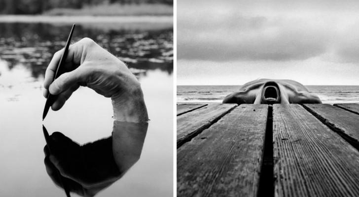 Deze fotograaf gebruikt zijn fantasie in plaats van Photoshop: zijn surrealistische foto's zijn meesterwerken