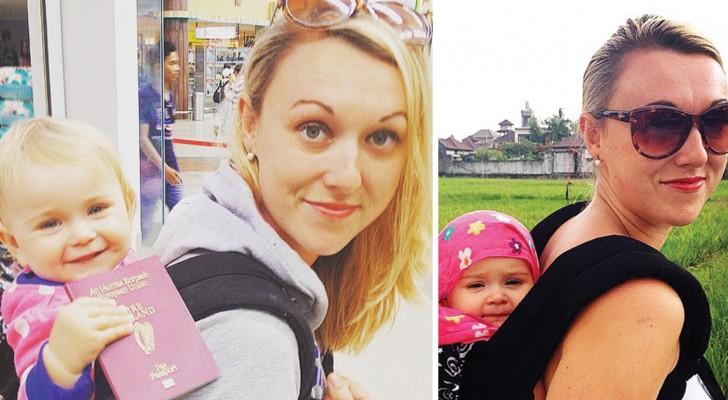 Deze vrouw benut haar bevallingsverlof om de wereld rond te reizen met haar dochter: het levert een schitterend reisverslag op