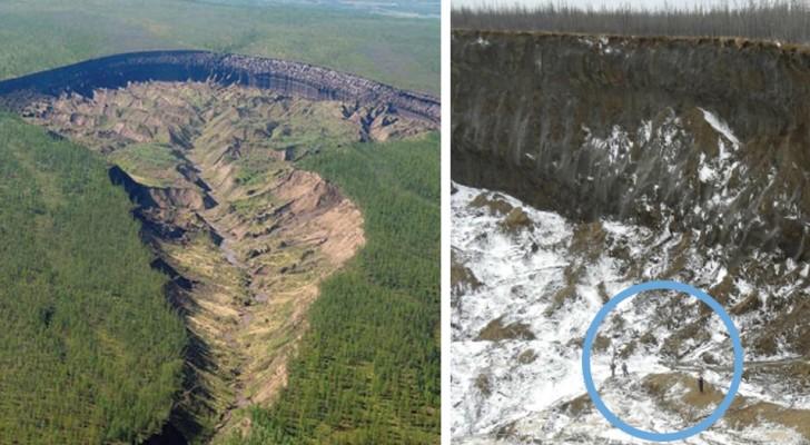 Ein Krater in Sibirien, der überdurchschnittlich schnell wächst: Die traurige Wahrheit hinter